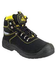 Chaussures de sécurité de travail noires pour bricolage, taille 40