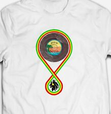 RETRO REGGAE MUSIC FOREVER JAMAICA DUB 100% cotton Mens RASTA T-shirt TEE