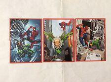 6 FIGURINE ADESIVE SPIDER-SENSE SPIDER-MAN L'UOMO RAGNO PANINI MARVEL lot 47