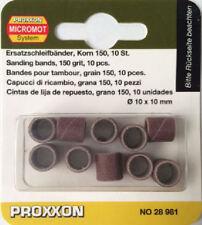 Proxxon 10 X Bandas de Lijado 150 Grit 28981 428981/directo de RDGTOOLS