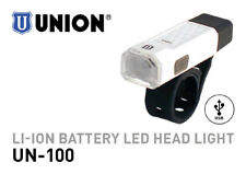 MARWI UNION LED BIKE HEADLAMP UN-100 LI-ION USB RECHARGEABLE BATTERY HEADLIGHT