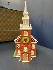"1988 Dept 56 New England Village Series ""Old North Church"""