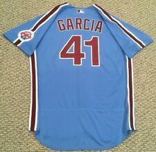 GARCIA #41 size 46 2020 PHILADELPHIA PHILLIES Home RETRO Game Jersey MLB holo