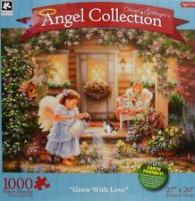 """KARMIN 1000 Piece Puzzle Angel Collection 'GROW WITH LOVE'  27""""x20""""  NIB"""