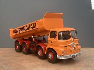 1:50 Corgi Foden S21 Tipper Code 3 Hoveringham With Neville U aluminium Body