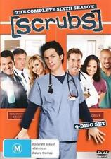 Scrubs : Season 6 (DVD, 2007, 4-Disc Set) NEW