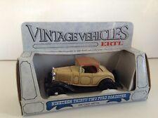 Lot vintage ERTL 1932 FORD vintage vehicles 1:43 car models RARE! INTROVABILE!