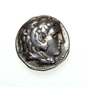 **MACEDON Alexander the Great Silver tetradrachm 336-323BC** TG721E