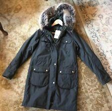 Barbour Women's Fieldfare Wax Jacket Size UK8 - Olive