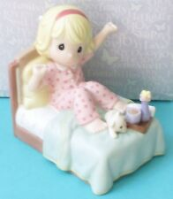 Precious Moments Sing For Joy With Each New Day Psalm 90:14 Member Figurine mib