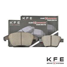 Premium Ceramic Disc Brake Pad FRONT REAR New Set Shims KFE1375 E-Sensor KFE1456