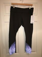 Lululemon Tight Stuff Tight NWT SZ 10 GTRG Gator Green Color Reflective