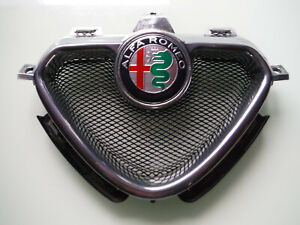 Alfa Romeo GTV Spider 1.Serie Scudetto Original Chrom EMBLEM 60658555 / 60596492