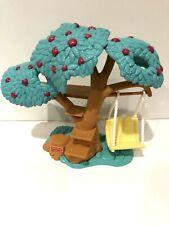 Fisher Price Loving Family Dollhouse Treehouse Apple Tree Swing Backyard Fun