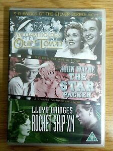 3 Classics Of The Silver Screen: Volume 7 DVD Our Town' and 'Rocket Ship XM