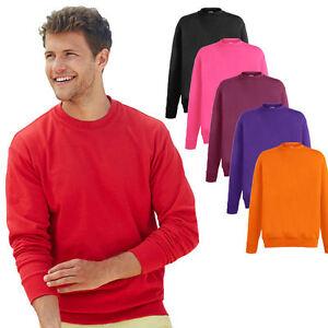 Fruit of the Loom Herren Sweatshirt Pullover Pulli Jacke Shirt Gr. S - XXL