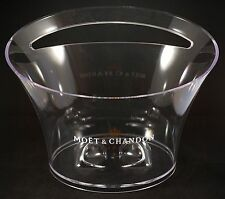 Champagne Moet & Chandon Ice Bucket, Bowl Vasque Acrylic by Jean Marc Gady NEW
