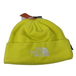 The North Face HyVent Yellow White Logo Style Beanie Unisex NWT