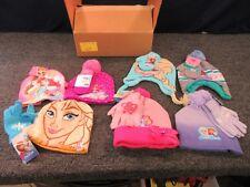 7 Girls Youth Toddler Disney Frozen Princess Gloves Hats Doc Mcstuffins Bulk Lot