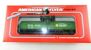 AMERICAN FLYER/Lionel S Scale #6-48403 British Columbia BC Tank Car ~NIB~  T142
