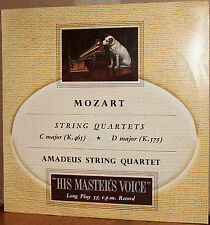 EMI LP ALP 1283: MOZART String Quartets C & D, AMADEUS STRING QUARTET - 1960s UK