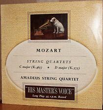 EMI LP ALP 1283: MOZART String Quartets C & D, AMADEUS STRING QUARTET - 1960s UK