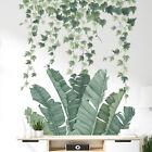 Waterproof Tropical Leaves Plants Wall Sticker Vinyl Art Decal Room Bedroom Deco