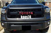 Toyota Tundra TRD PRO Grill Emblem Decal 2015 2016 2017 2018 2019 2020 2021