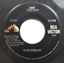 50S 60S 45 Elvis Presley - Judy / There'S Always Me On Rca Victor