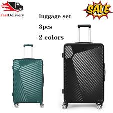 Luggage Set Travel Bag Lightweight ABS Spinner Suitcase TSA Lock 20