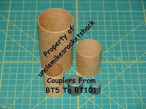 """Case Of 14 BT-70 Couplers 4"""" In Length"""