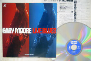 GARY MOORE LIVE BLUES WARNER AMLY-8068 Japan VINYL LD