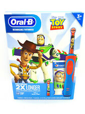Oral-B Kids Disney's Toy Story Rechargeable Electric Toothbrush Kit NEW