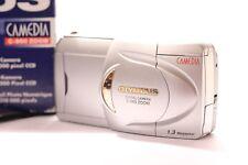 Olympus CAMEDIA 960 Zoom 1.3MP Digital Camera - Silver