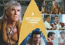 2017 CANADA POST - STAR TREK II THE WRATH OF KHAN - POSTAGE-PAID POSTCARD