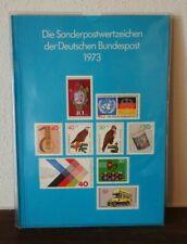 Bund Jahrbuch Nr.1 Das Gute 1973 Michel 1700 € Jahreszusammenstellung postfrisch