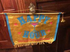 Vintage Southern Comfort Promotional Happy Hour Flag Banner Sign Bar Decor