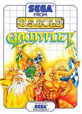Gauntlet SEGA Master System Framed Print (Picture Poster Gaming Art Mega Drive)