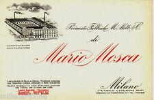 #MILANO: testatina- MARIO MOSCA- LETTI E MOBILI IN FERRO