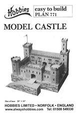 Hobbies planes para hacer un modelo Castillo 650mm X 450 Mm p771