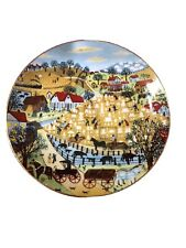 """New listing Down Home Memories """"Cleaning Off The Cemetery"""" Viletta M.L. O'Kelley Plate #3617"""