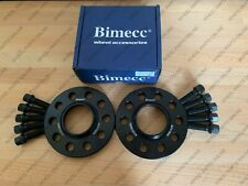 BIMECC ALLOY WHEEL SPACERS + RADIUS BOLTS 15MM 5X112 66.6 AUDI A6 S6 RS6 C7 PAIR