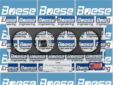 "Under Dash Black Anodized Billet Aluminum 4 Gauge Panel (2 5/8"" Auto Meter)"