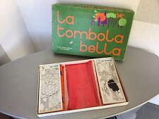 VINTAGE 70s# LA TOMBOLA BELLA GIOCO DA TAVOLO MADE IN ITALY#NIB