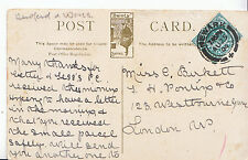 Genealogy Postcard - Family History - Birkett - Westbourne Grove - London  A1315