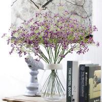 Fake Artificial Cherry Blossom Silk Flower Bridal Home Decor Hydrangea