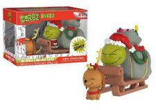 Funko Vinyl Sugar Dorbz Design Toys Grinch and Max on Sled Ridez Figure