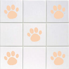 Paw Print - Vinyl Tile Decals