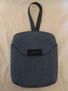 Genuine Bose SoundLink Color Bluetooth Speaker Carry Travel Case - Gray Neoprene