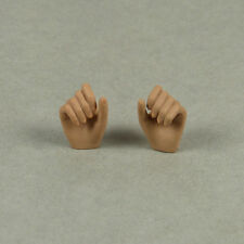 1/6 Scale Phicen Stainless Steel - Female Suntan Grabbing Gestured Hand Set